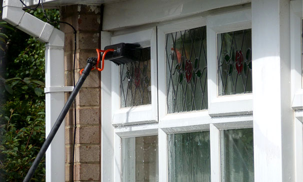 Window cleaning services in Essex